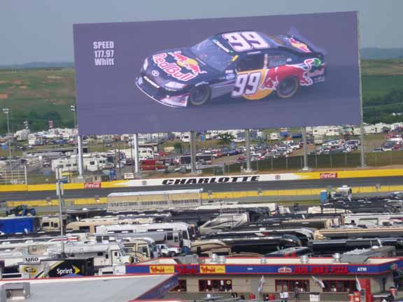 Camping out at charlotte motor speedway fab senior travel for Charlotte motor speedway campground