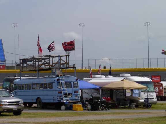 Camping Out At Charlotte Motor Speedway Fab Senior Travel