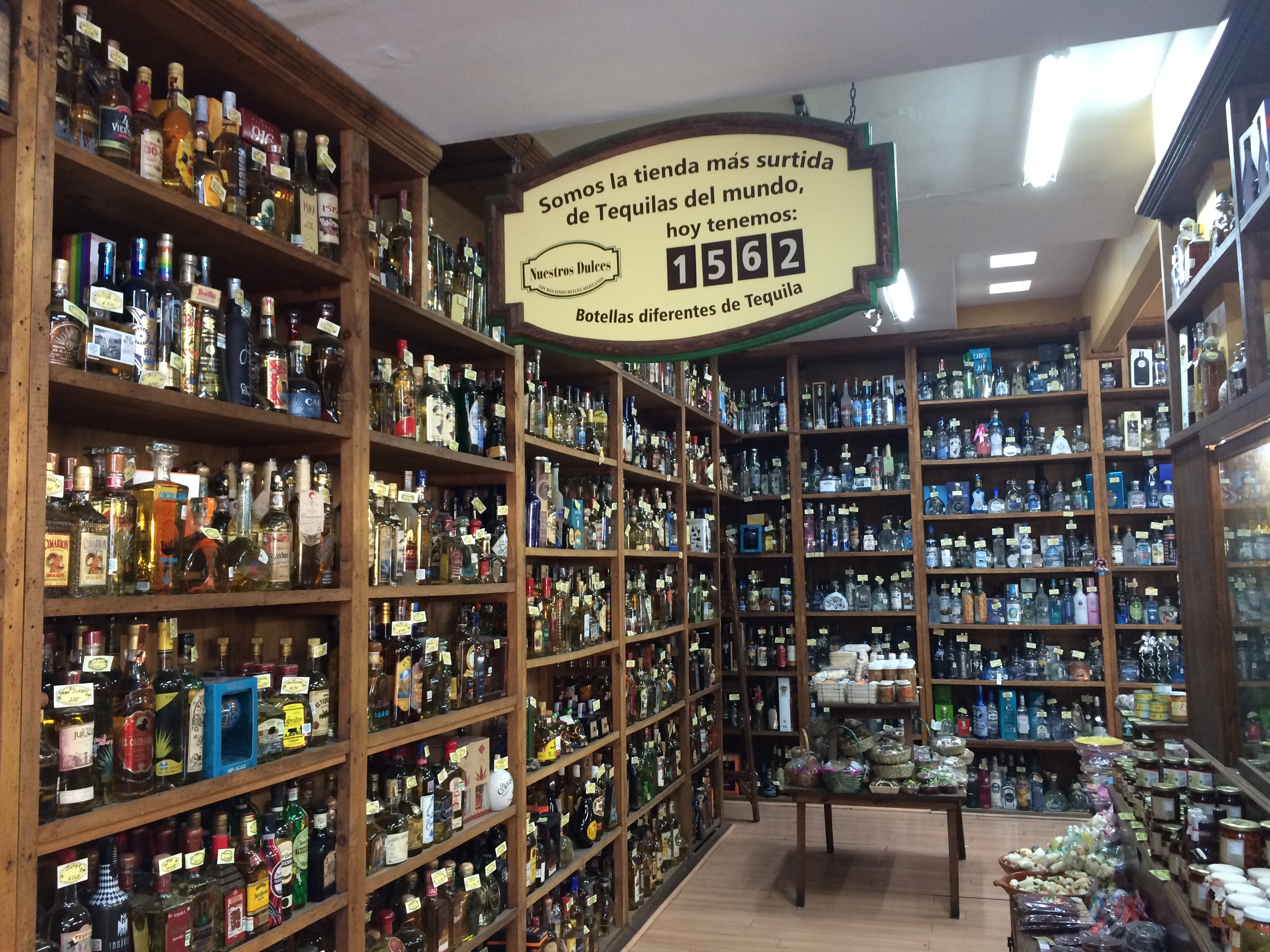 Store with largest Tequila Selection