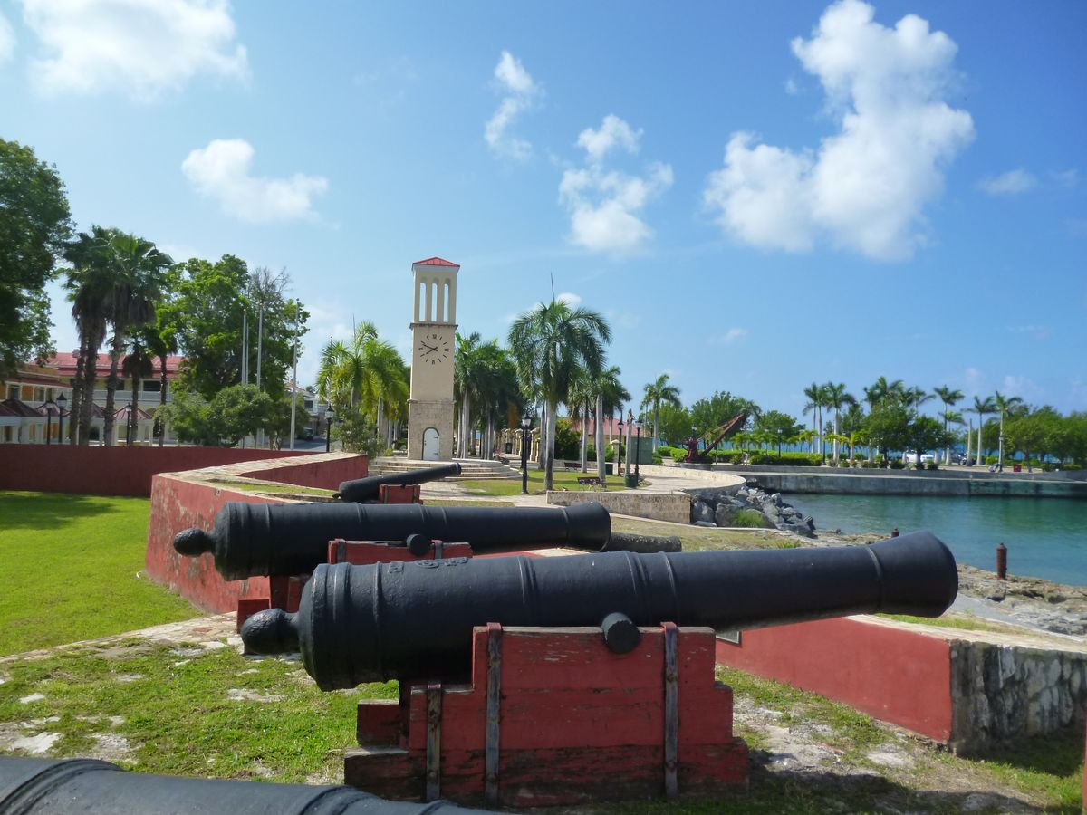 Canons at Fredericksted Fort