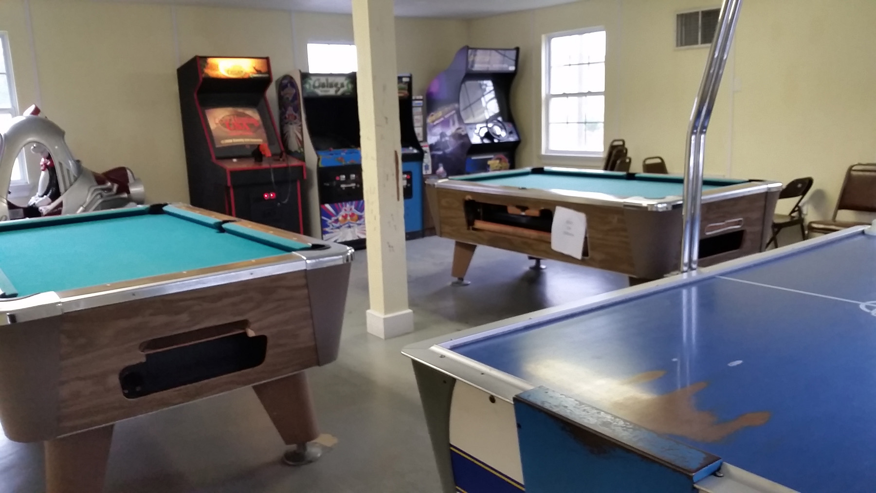 Baton Rouge game room