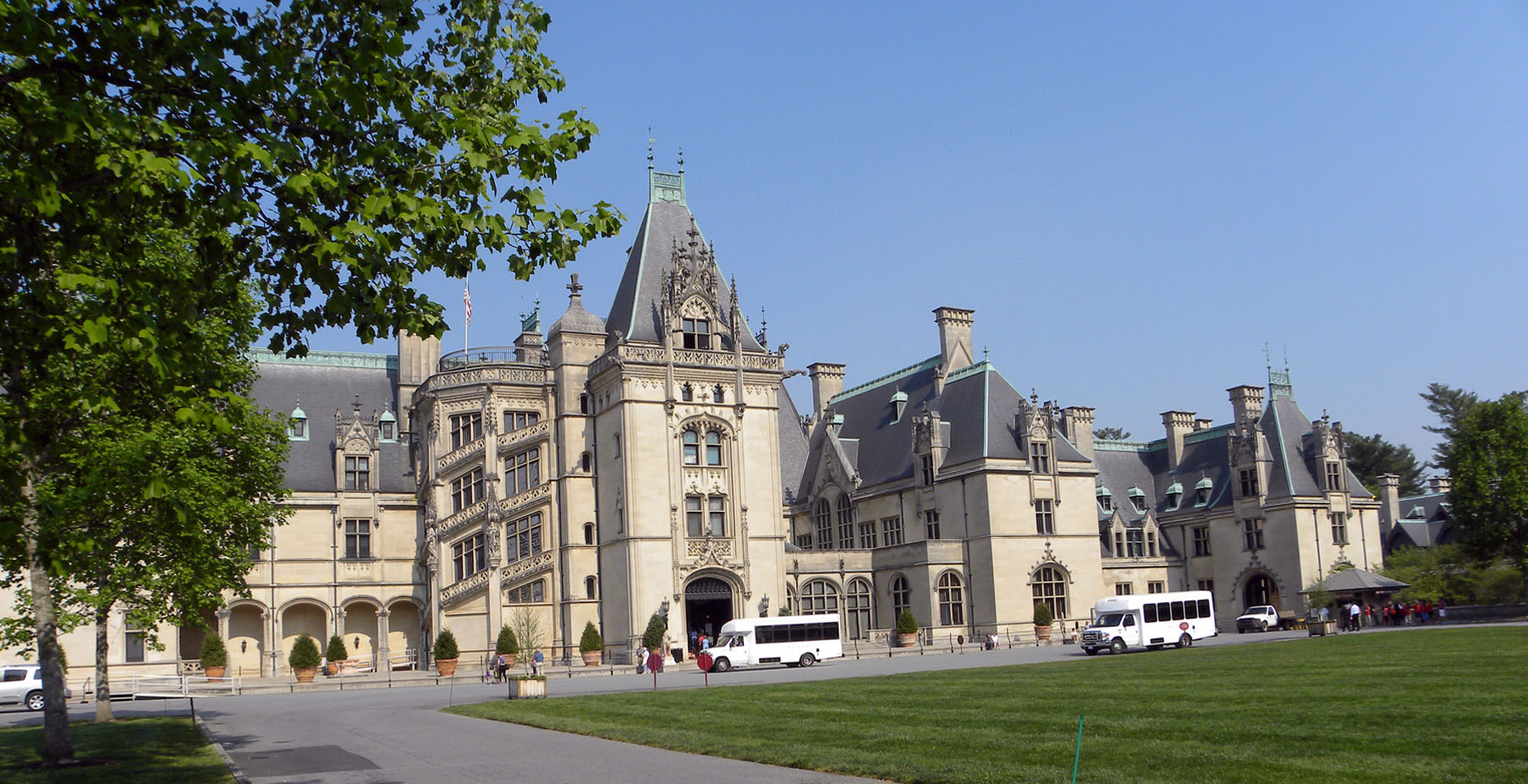 The Biltmore House in Ashville