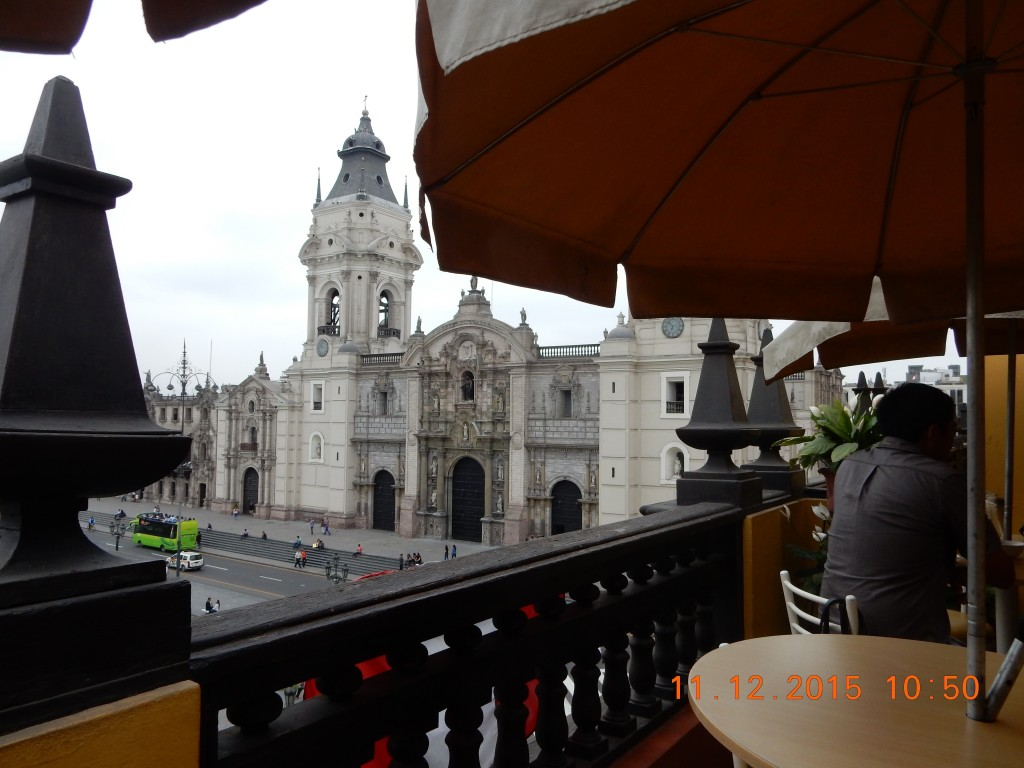 Lima's Central Square and Cathedral