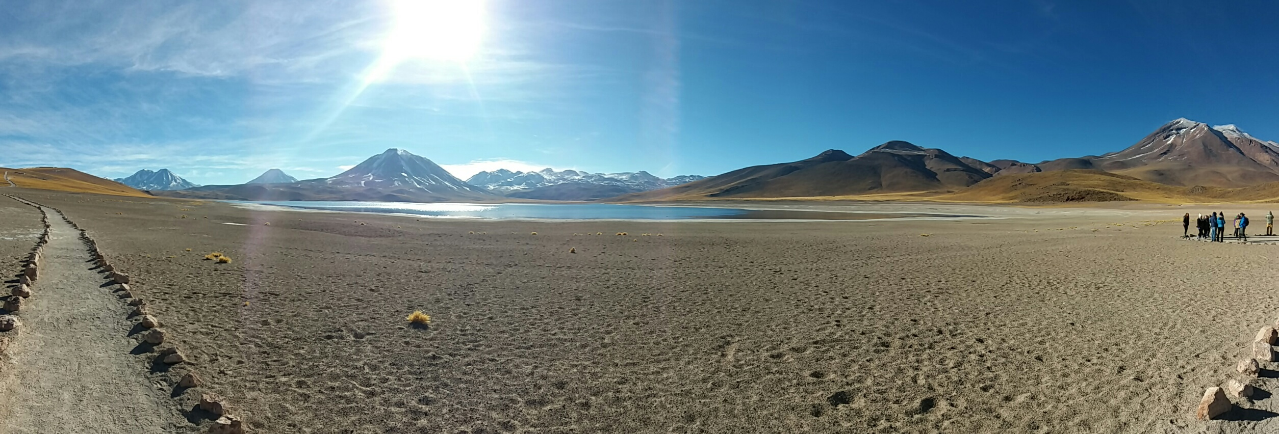 Panorama of Laguna Miscanti