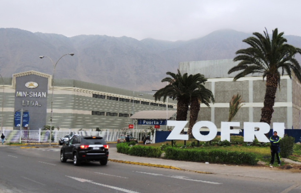 Free Zone - a boom to Iquique's economy