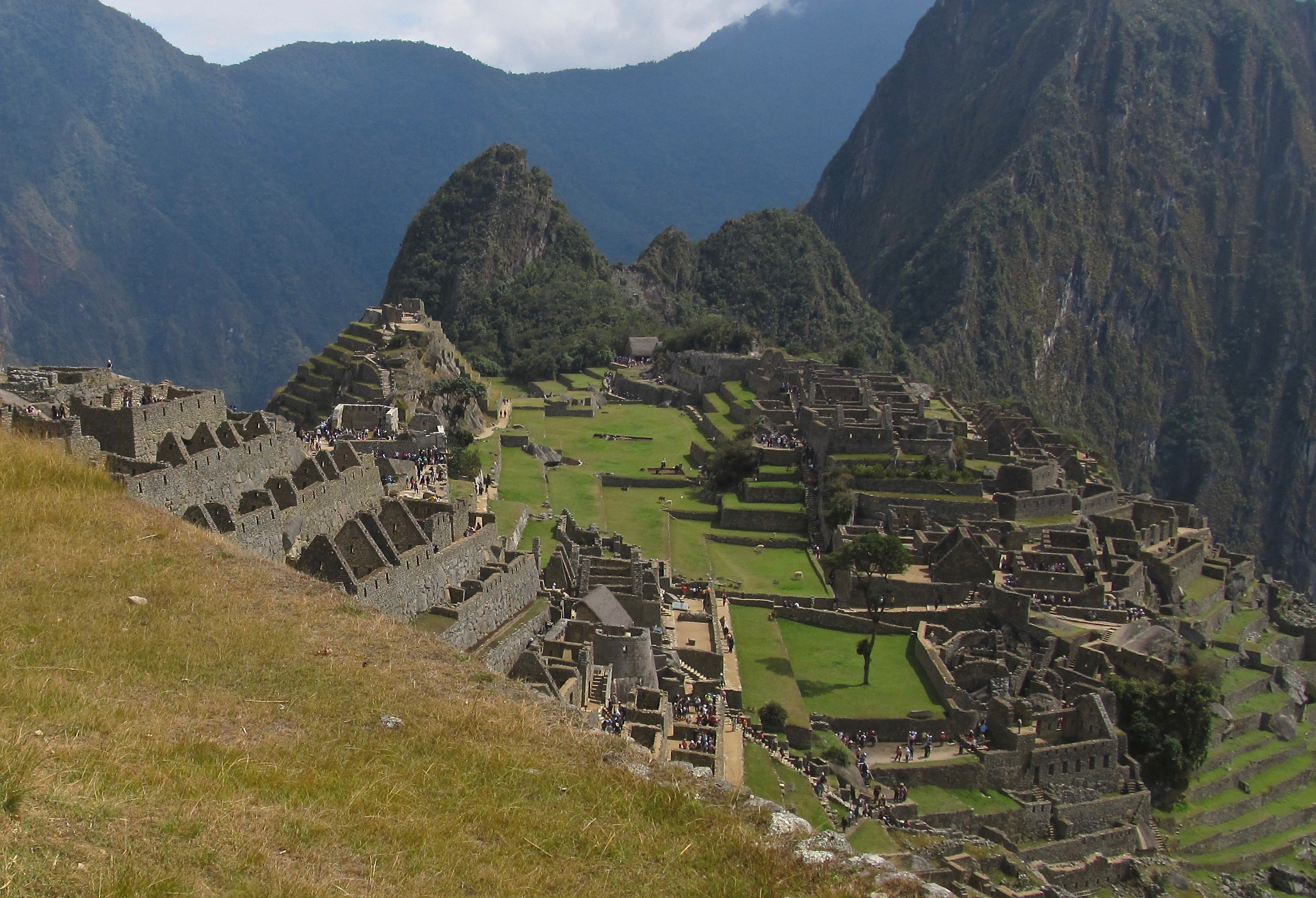 Machu Picchu was a secret location for the leaders and administrative hierarchy of the Inca ruling class.