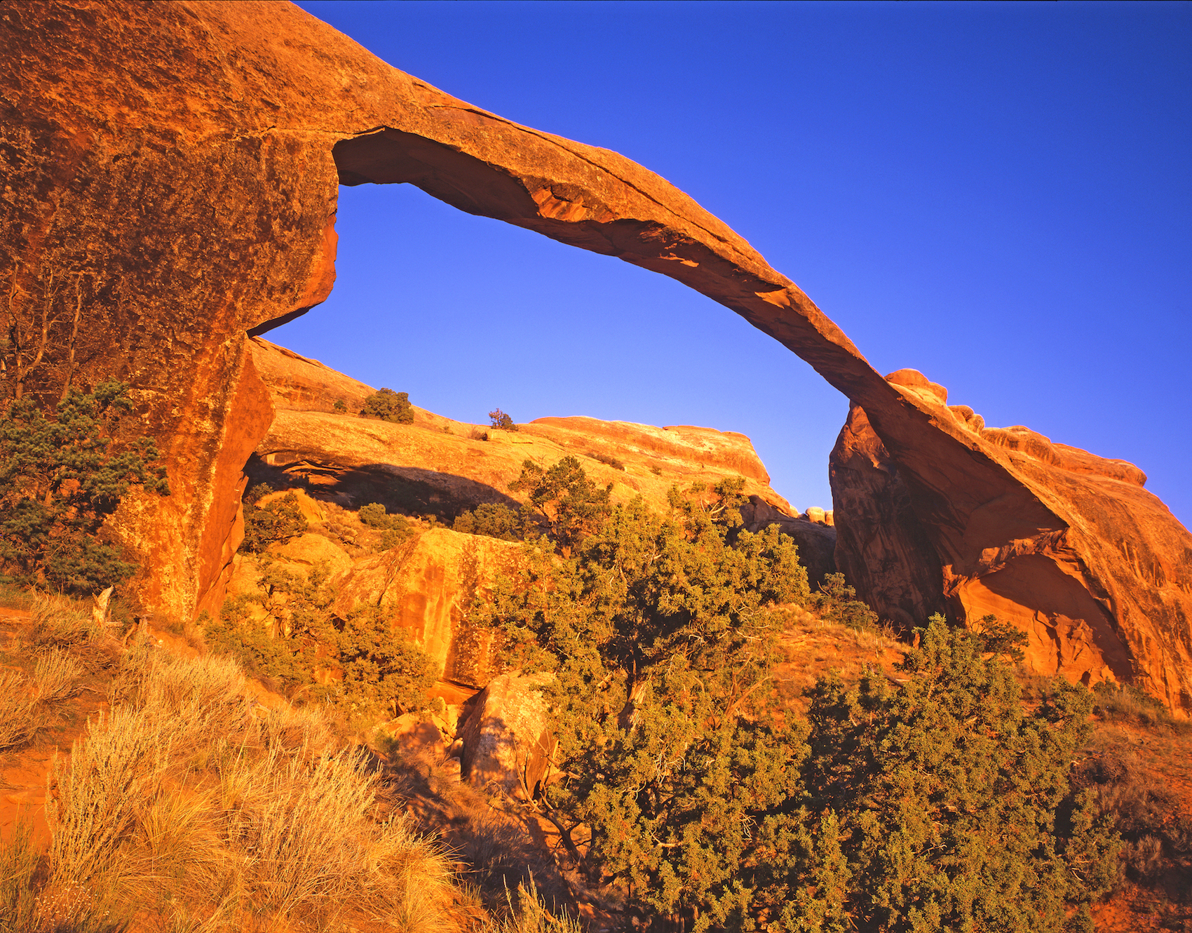 Landscape Arch Photo courtesy of Utah Tourist Bureau