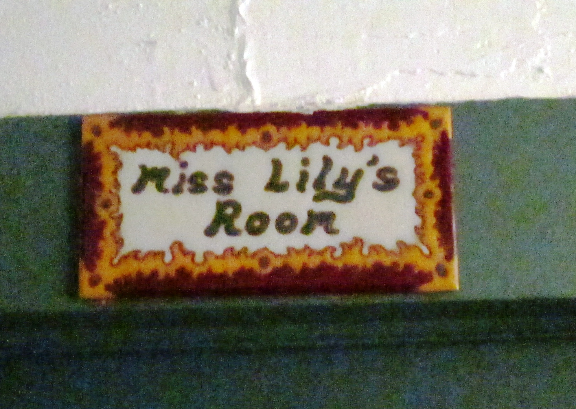 Miss Lily's room