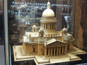 Replica of St. Isaac's Cathedral.