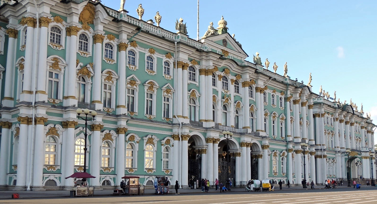 The Winter Palace and Hermitage Museum