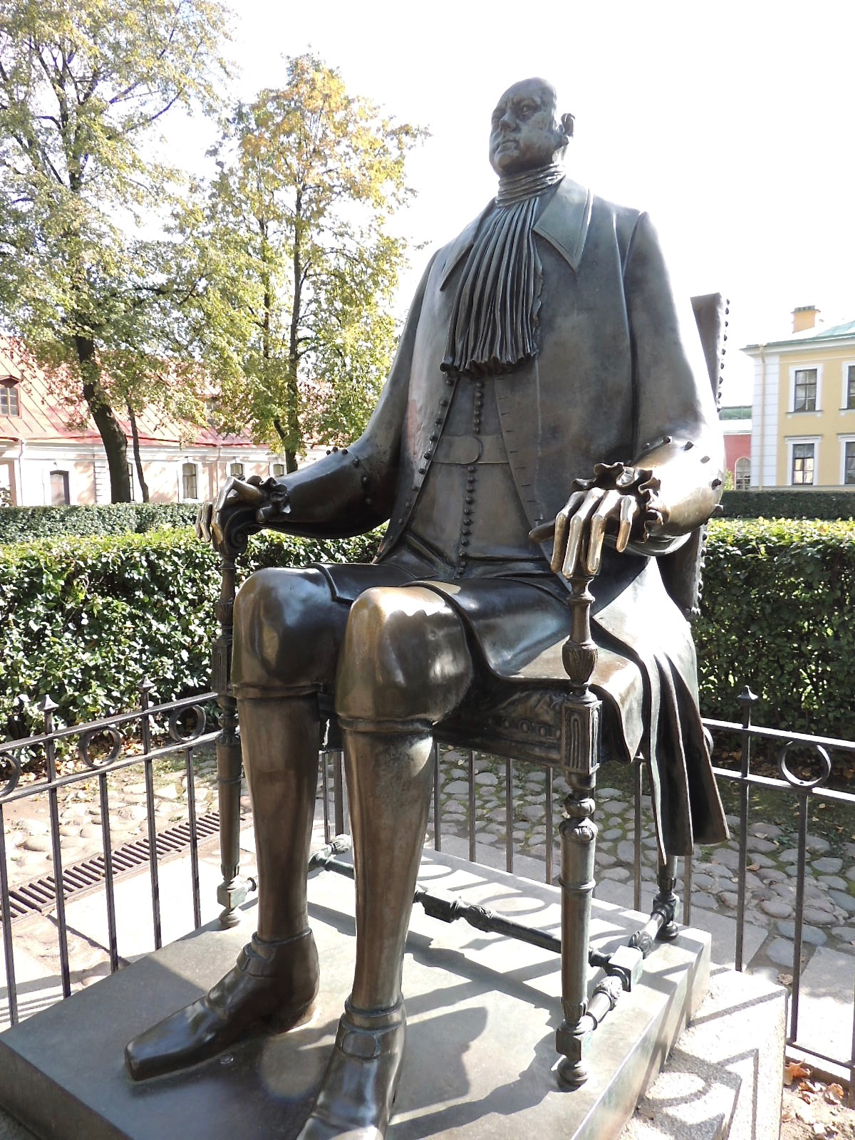 Statue of Peter the Great.