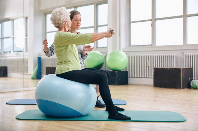 Stability Ball  Exercises Credit Photo: LiveStrong