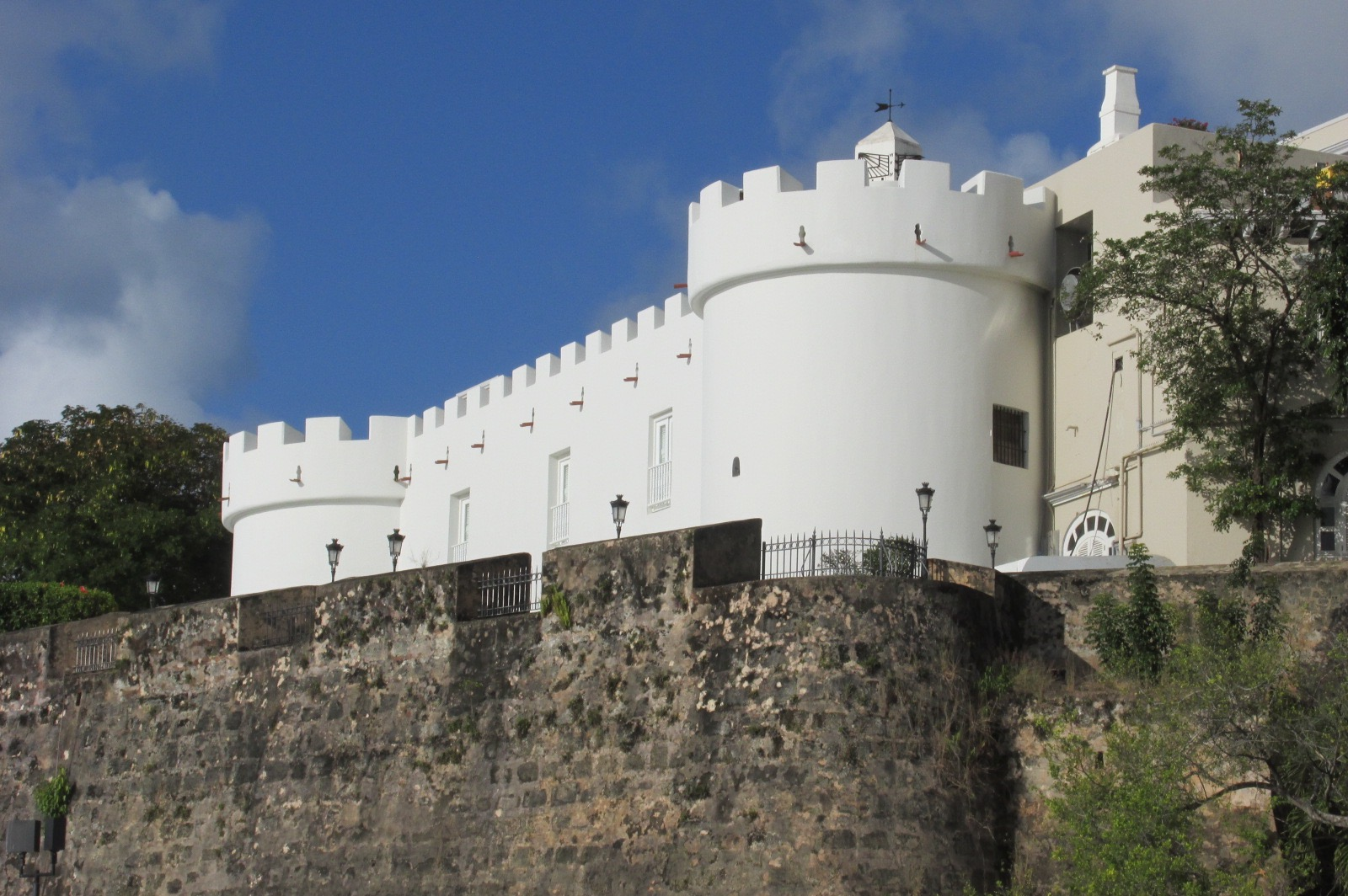 La Fortaleza, Governor's home and office
