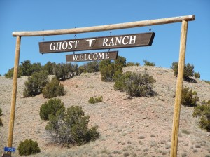 Entrance to Ghost Ranch