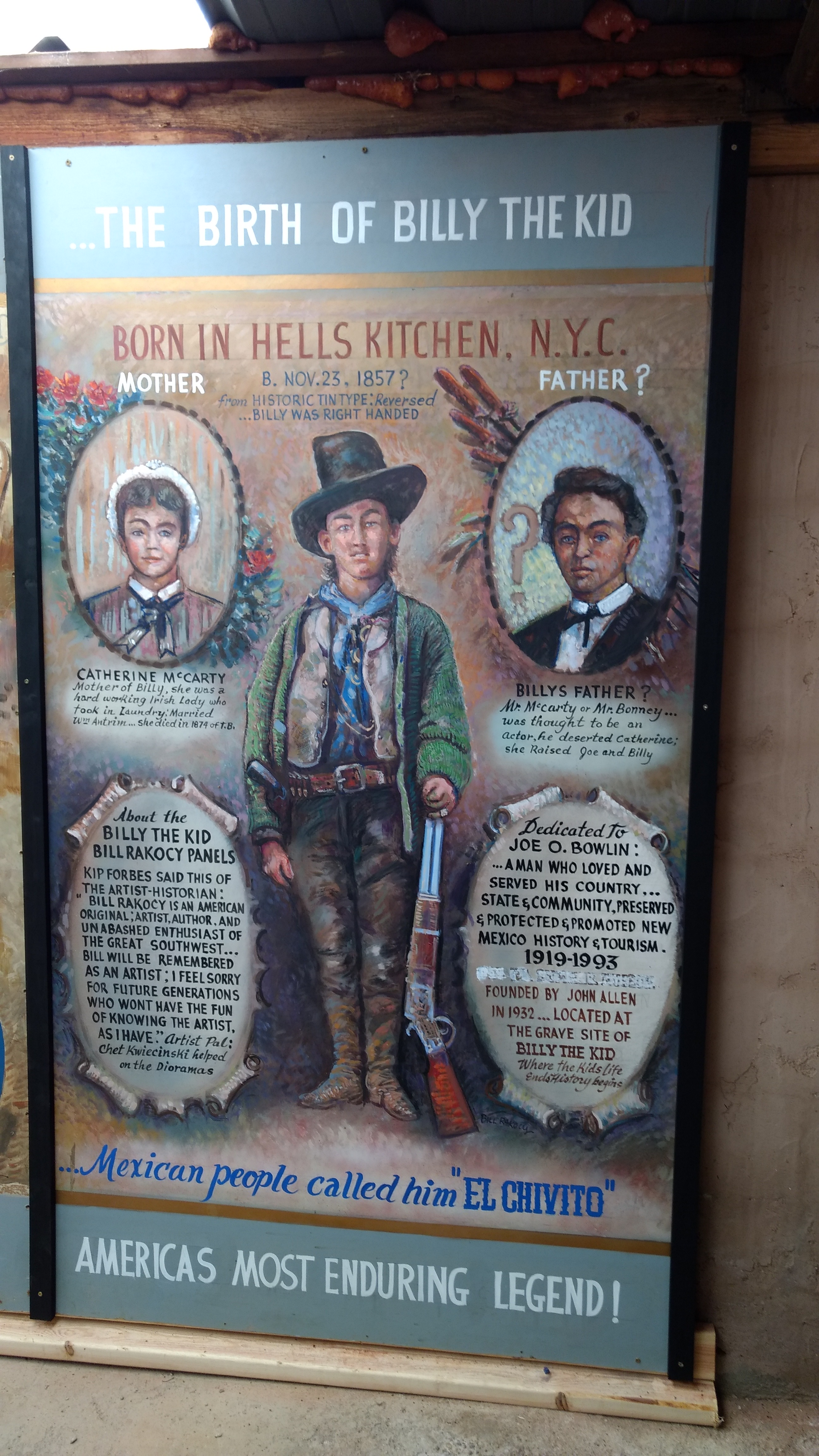 The Birth of Billy the Kid, a.k.a., Henry McCarty
