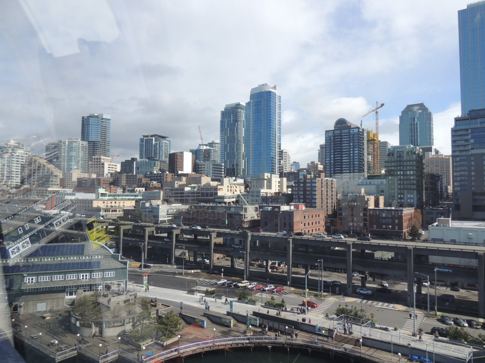 View of Seattle from Seattle's Great Wheel