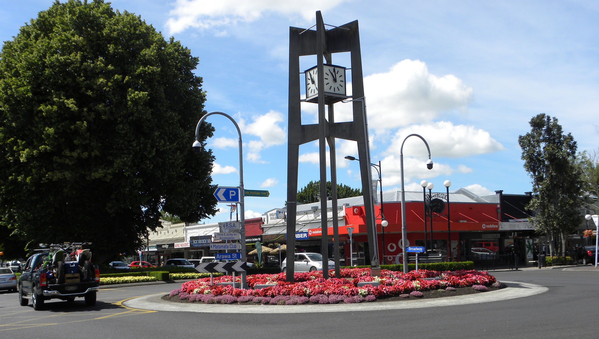Matamata, New Zealand center