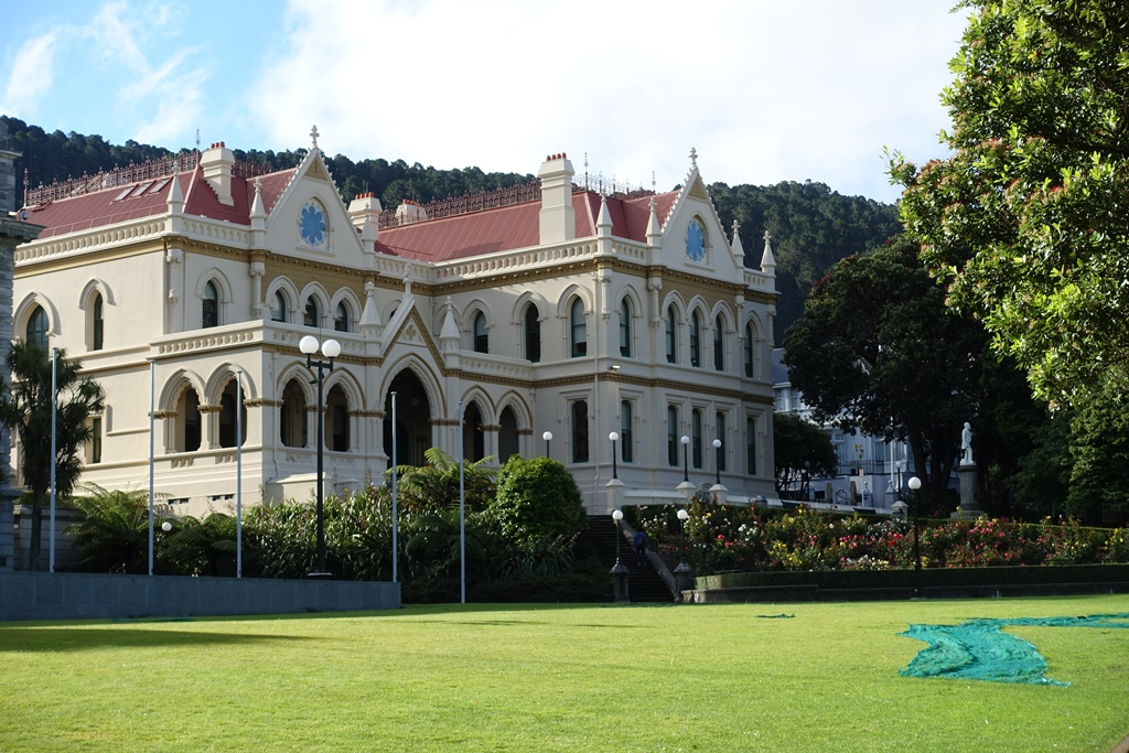 Wellington Parliament house