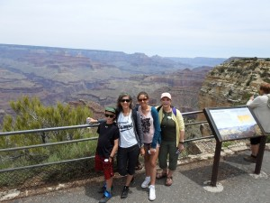 Our first day at the Grand Canyon.