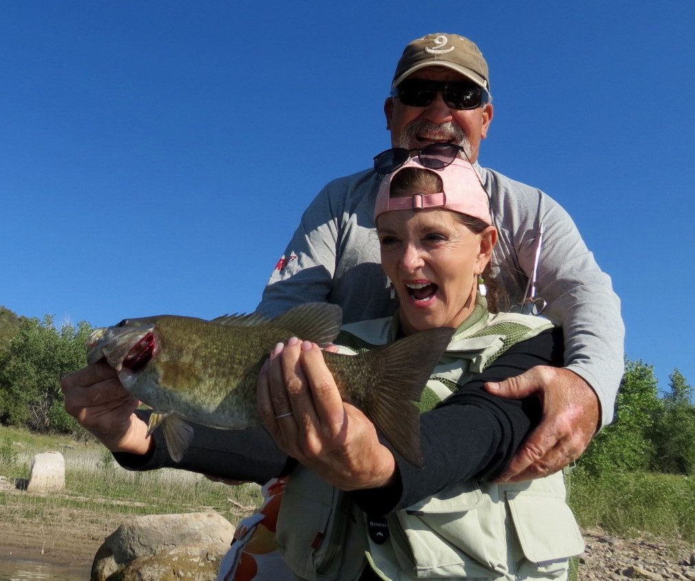 Fishing with Little Fishes in Durango, CO.