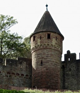 Wertheim Castle. Only the shell exists.