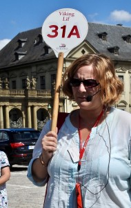 Christina, our Viking River Cruise guide in Wurzburg