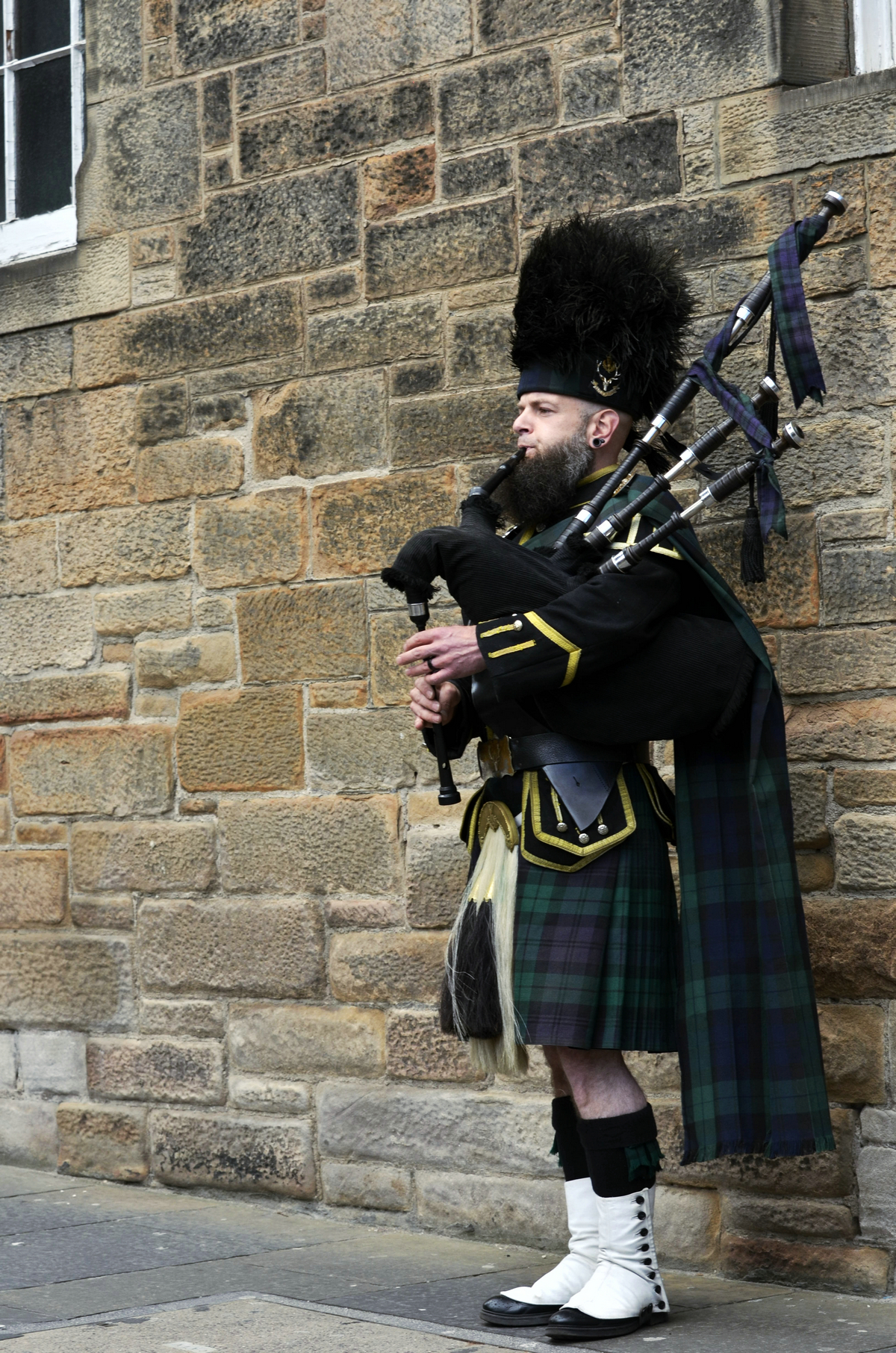 Bagpipe, an iconic symbol of Scotland.