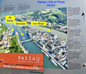 Map of Passau
