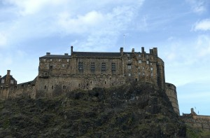 Edinburgh Castle which stands as the spirit of the city. The Stone of Destiny, the symbol of Scottish monarchy, is housed inside.