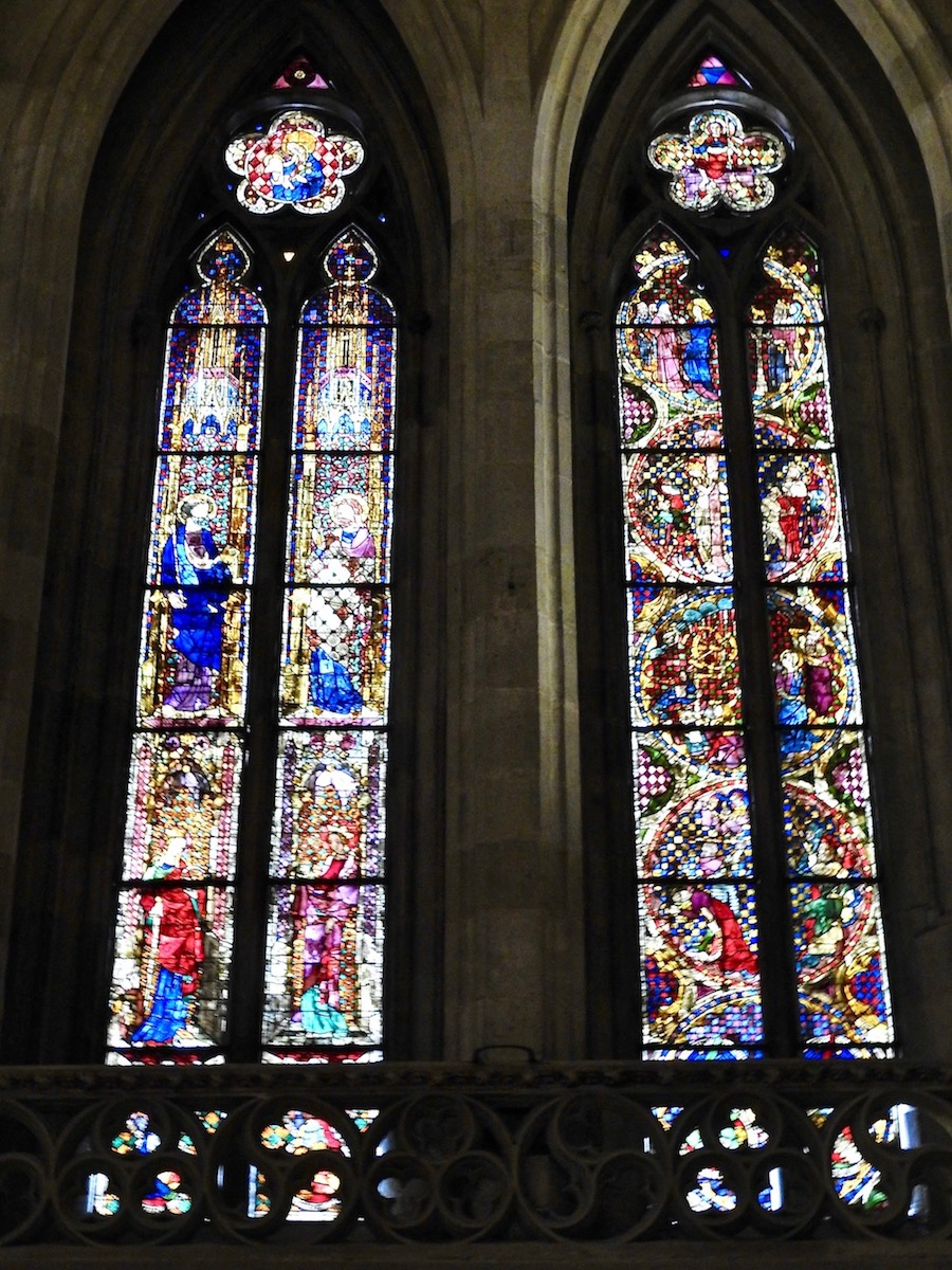 Stained Glass Windows of St. Peter's Cathedral (Regensburg)