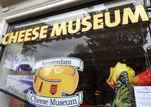 Cheese Museums permeate the streets of Amsterdam.