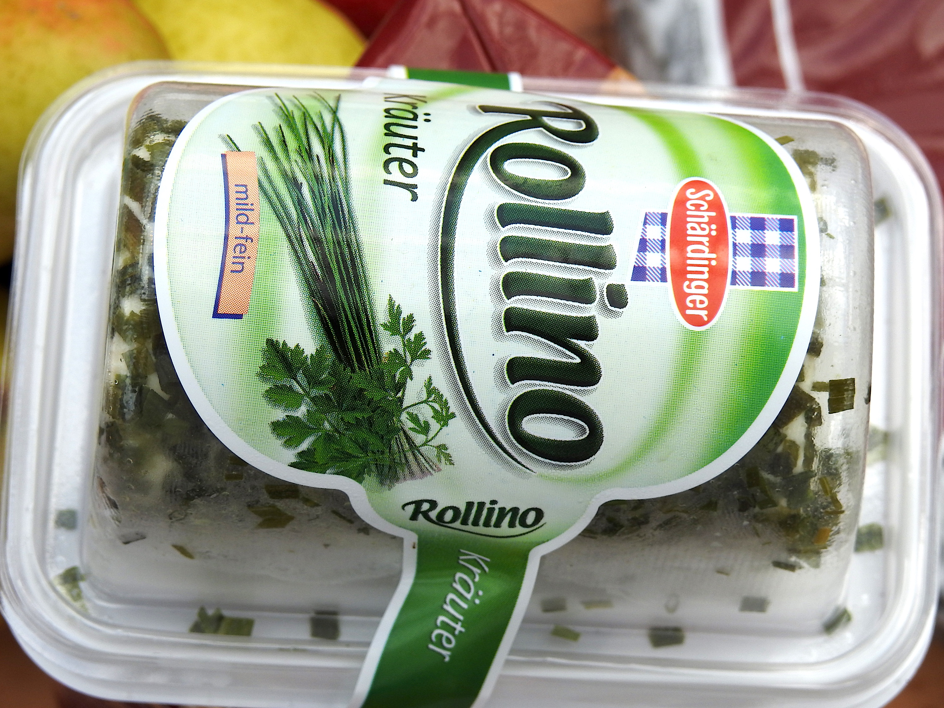 Rollino. A mild cheese similar to our Philly Cream Cheese.