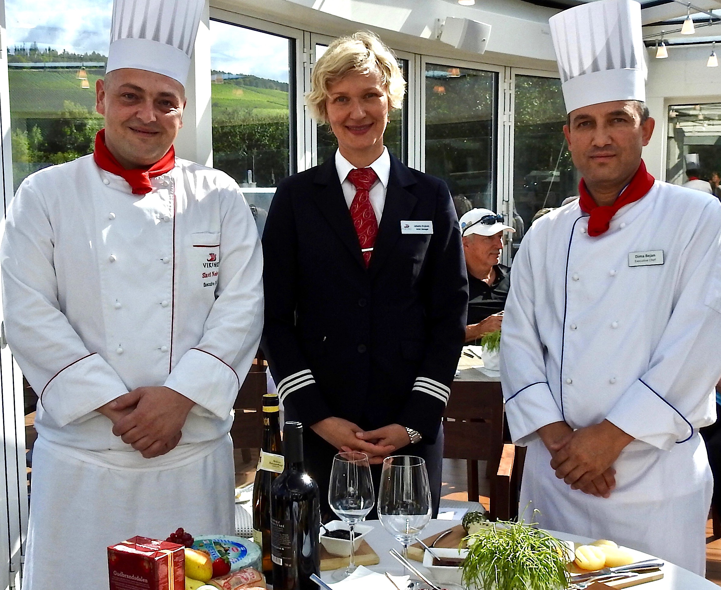 Slavi Nedev, Jadranka Brajkovic, and Dima Bejan assembled the cheeses of the region.
