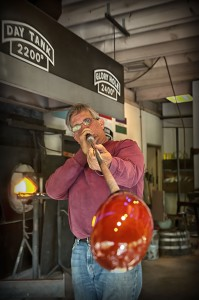 Glass Blowing:  Photo courtesy of Dollywood