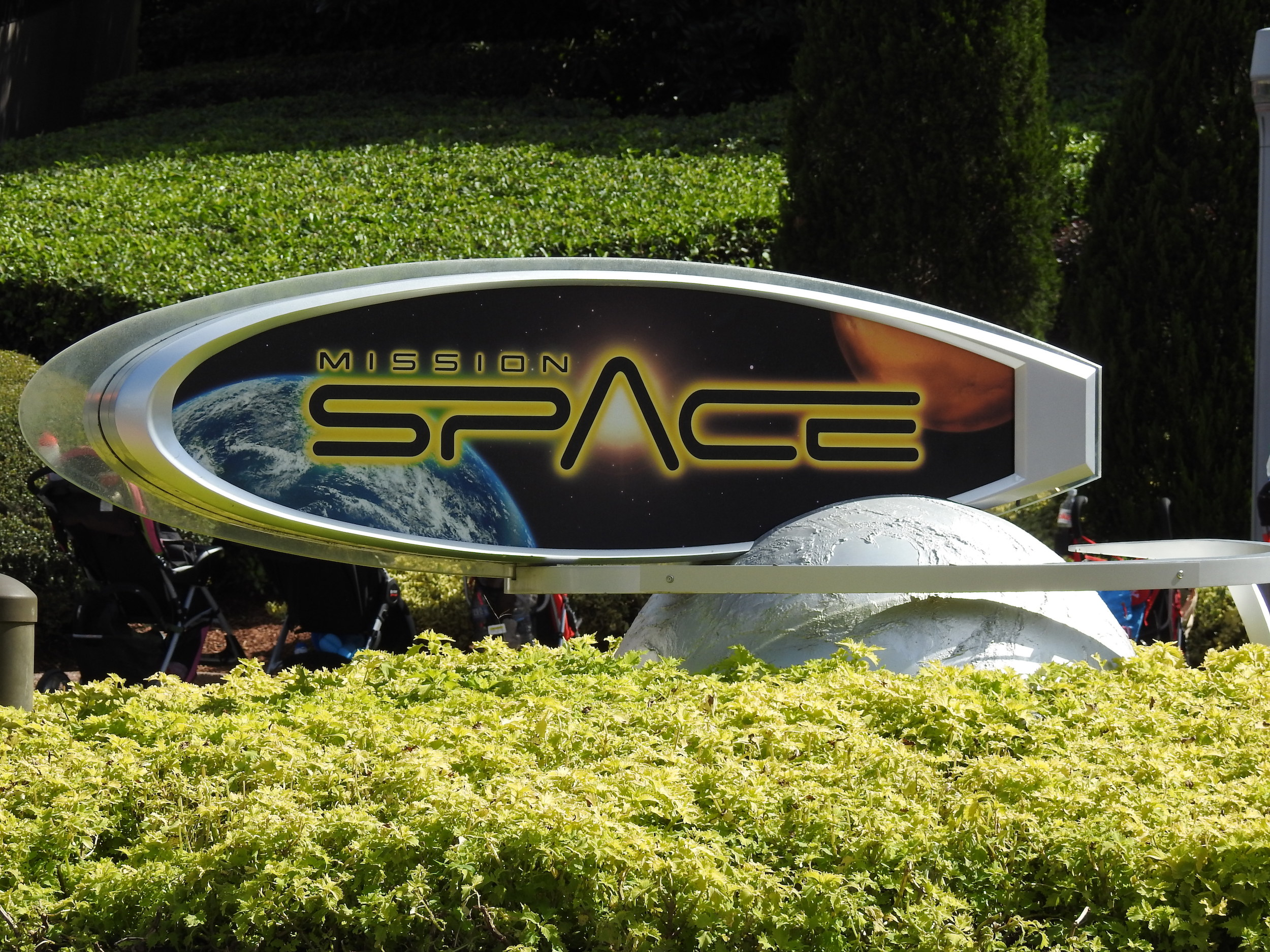Mission Space was training to be an astronaut.