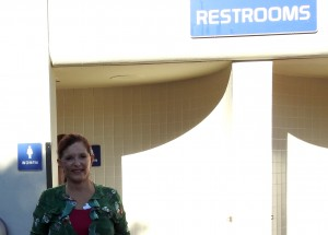 Plenty of restroom facilities. Everything is kept neat and clean.