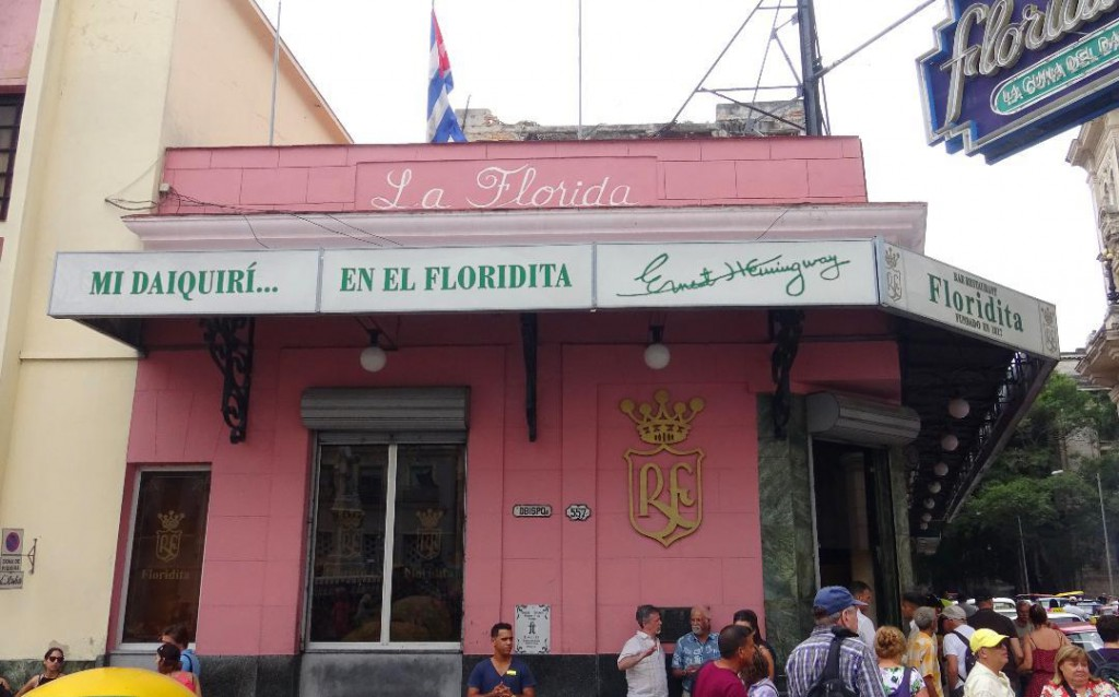 La Florida Bar frequented by Hemingway