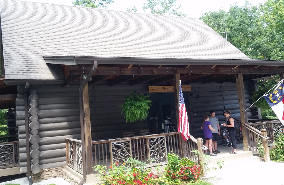 Visitor Center at Dupont Forest. Photo from WEB
