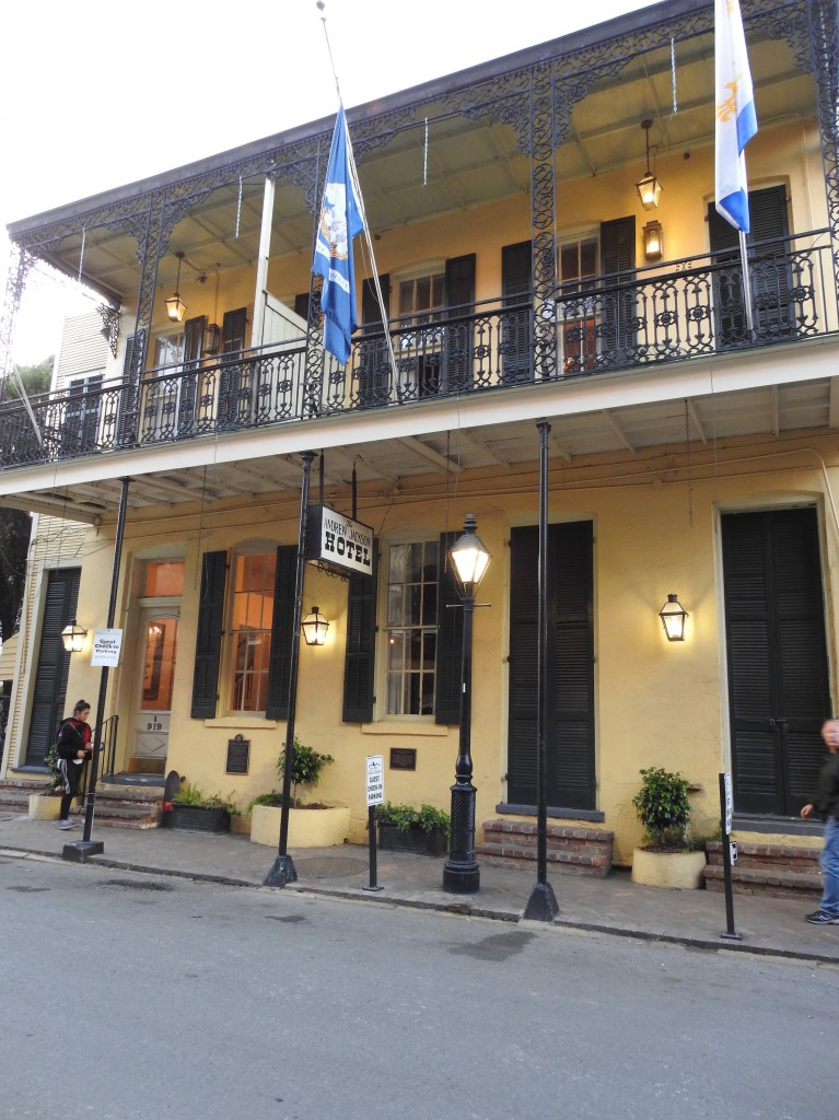 Andrew Jackson Hotel where five boys burned to death when the building was a Catholic School.