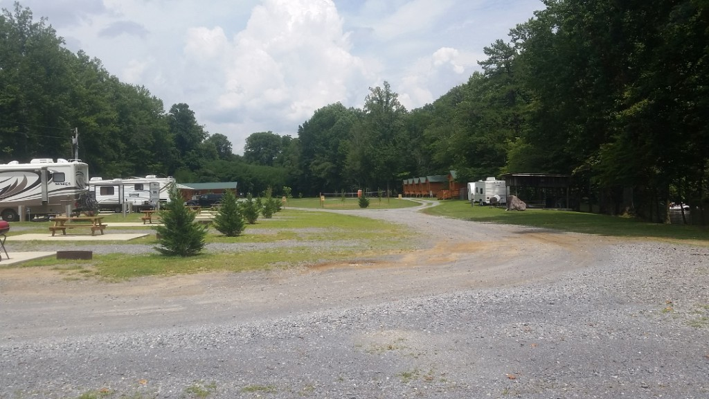 Pigeon River Campground and RV Park.  Photo from the web