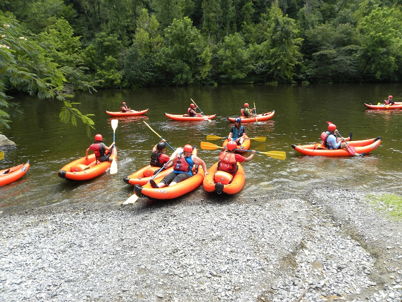Kayaking with Smoky Mountain Outdoor