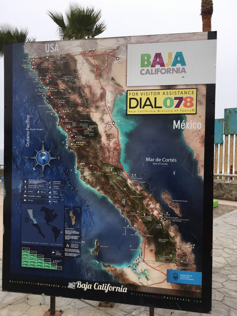Map of Baja