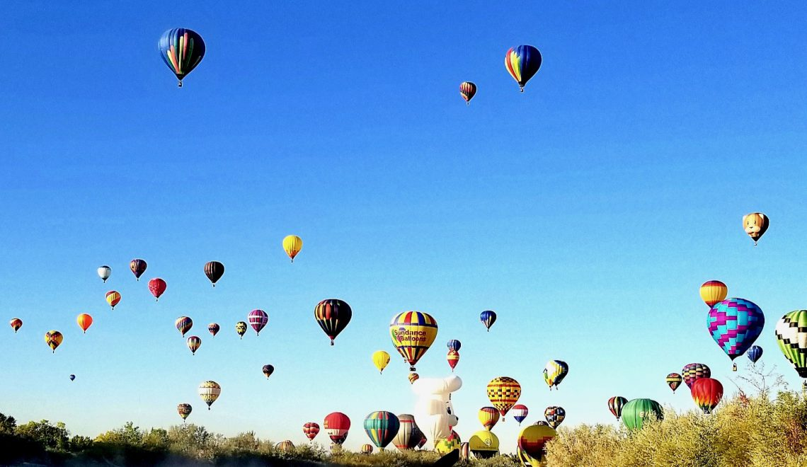 2019 ABQ Balloon Festival: A Different Perspective